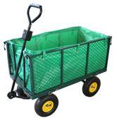 Wózek ogrodowy transportowy plażowy przyczepka