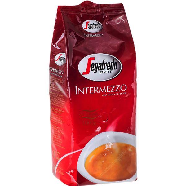 Kawa ziarnista Segafredo Intermezzo 1kg zdjęcie 1