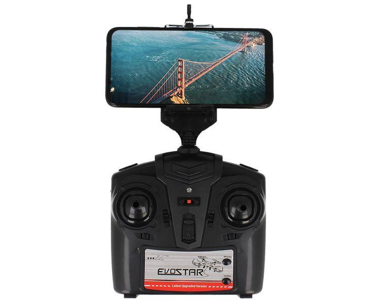 DRON EVOSTAR Explorer RQ77-14W z Kamerą WiFi 6Axis 3Aku Czarny Z25C zdjęcie 9