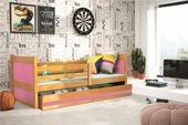 Łóżko RICO dla dzieci pojedyncze dla jednej osoby 190x80 + MATERAC zdjęcie 6