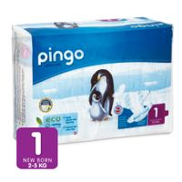 Pieluszki Pingo Ultra Soft 1 New Born 2-5kg 27szt.
