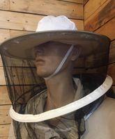 Kapelusz pszczelarski z odpinaną siatką z przodu