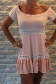 Sukienka-Tunika damska z koronką rozmiar uniwersalny