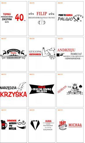 Nosidełko Skrzynka na piwo GRAWER PREZENT URODZINY ŚWIĘTA na Arena.pl