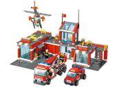 Klocki Blocki Remiza Strażacka Straż Pożarna 774 elementy
