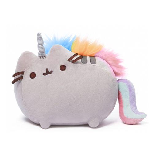Pushen unicorn pluszowy kot poduszka jednorożec zdjęcie 1