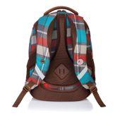 Plecak szkolny młodzieżowy Astra Head HD-97, w kratę zdjęcie 2