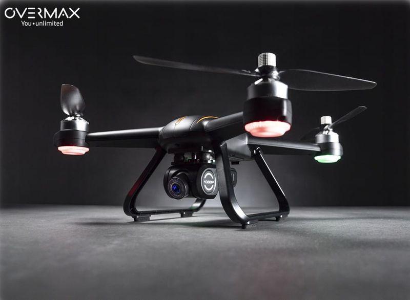 OVERMAX Dron X-BEE 9.0 GPS FULL HD WiFi FPV zdjęcie 3