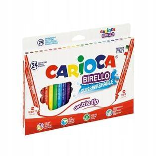 Flamastry Carioca Birello dwustronne 24 kolory