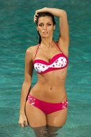 Kostium Kąpielowy Morgan Ginger M-232 Czerwony (92) Rozmiar Xl