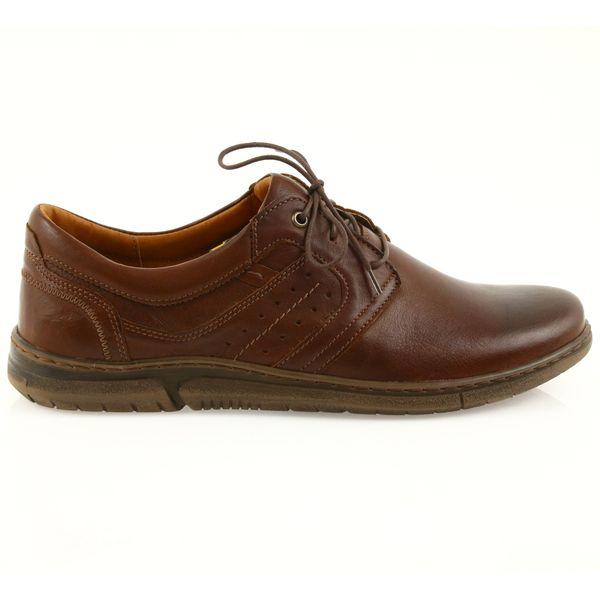 Riko półbuty buty męskie brązowe 870 r.41 zdjęcie 1