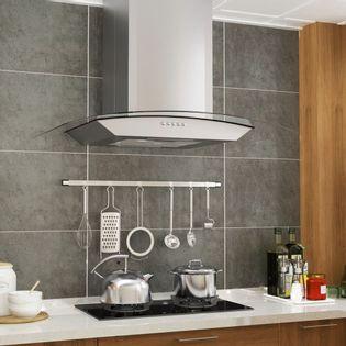 Lumarko Okap kuchenny LED, ścienny, stal nierdzewna, 60 cm, 756 m³/h
