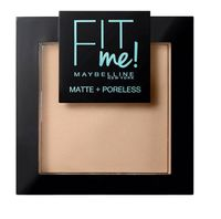 Fit Me Matte Poreless Pressed Powder puder matujący do twarzy w kompakcie 120 Classic Ivory 9g