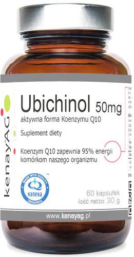 UBICHINOL 50 mg 60 Kaps. KOENZYM Q10 KANEKA __ 24H na Arena.pl