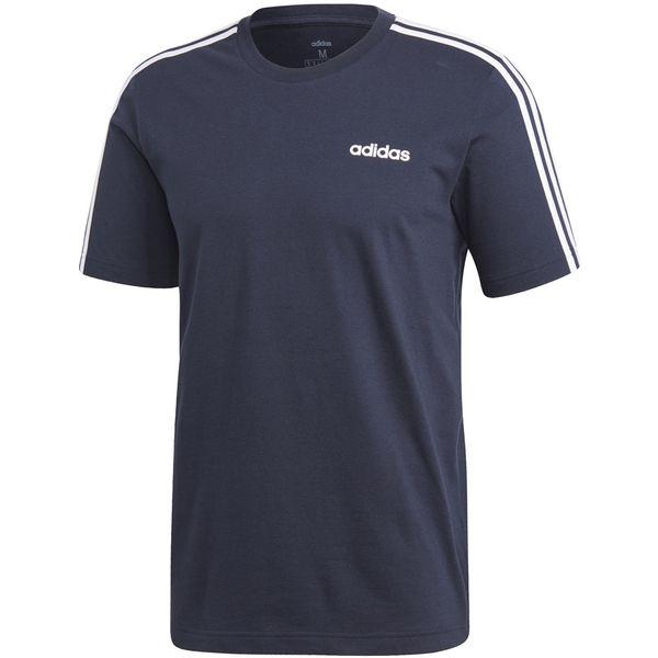 Koszulka adidas Essentials 3 Stripes Tee granatowa DU0440 XL zdjęcie 1