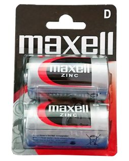 Baterie R20 1,5V Maxell 2 sztuki