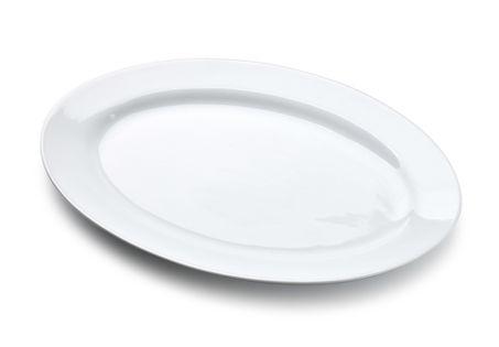 BASIC Półmisek owalny 30x20xh2.2cm Kolor - Biały