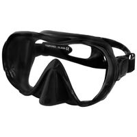 Maska do nurkowania ULTIMA Kolor - Nurkowanie - Maski - 07B - czarny silikon
