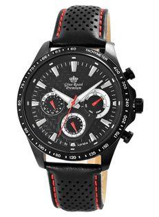 Zegarek Męski Gino Rossi Stalowy Premium S523A-1A3
