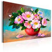 Obraz malowany - Wiosenna wiązanka Rozmiar - 90x60