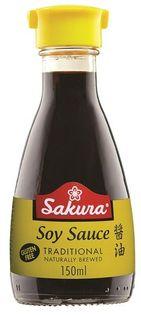 Sos sojowy bezglutenowy Sakura 150ml - dyspenser
