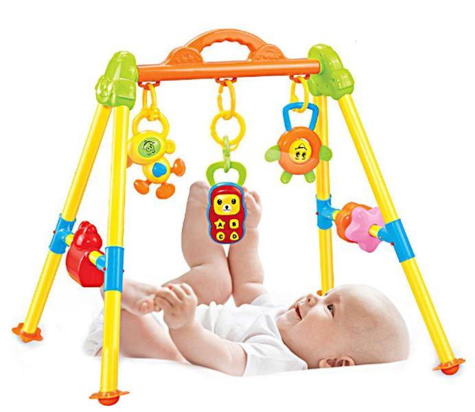 Stojaczek stojak dla dzieci gimnastyczny edukacyjny z grzechotkami Y85 zdjęcie 5
