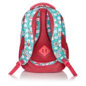 Plecak szkolny młodzieżowy Astra Head HD-83, miętowo-różowy we flamingi zdjęcie 2