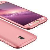 360 Protection etui na całą obudowę przód + tył Samsung Galaxy J3 2017 J330 różowy