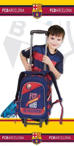 Plecak na kółkach FC Barcelona + piórnik gratis !! zdjęcie 2