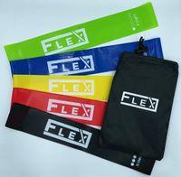 Gumy taśmy oporowe do ćwiczeń FLEX trening siłowy fitness yoga