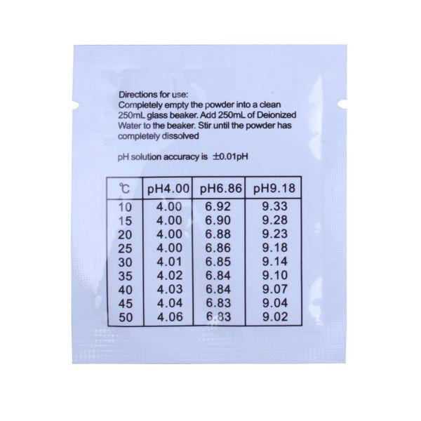 Bufor do kalibracji mierników pH 4,01 6,86 proszek na Arena.pl