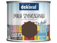 Farba Dekoral Akrylux Emalia szybkoschnąca (0.5 l, Szach-Mat Mat)