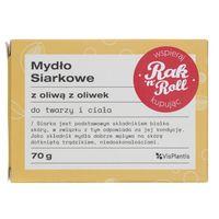 Vis Plantis Mydło siarkowe z oliwą z oliwek do twarzy i ciała - 70 g