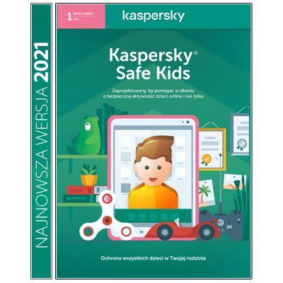Kaspersky Safe Kids Premium na 1 rok na Arena.pl