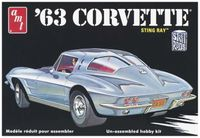 Model do sklejania 1963 Chevy Corvette 1:25