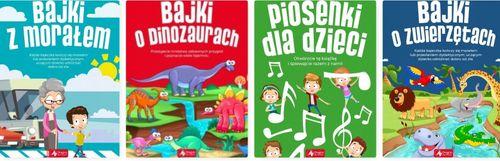 Piosenki dla dzieci 48 str b5 twarda nagrody -20 % na Arena.pl