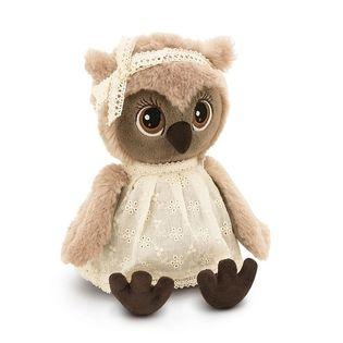 Przytulanka Sowa Sonya w koronkowej sukience - 25cm #T1