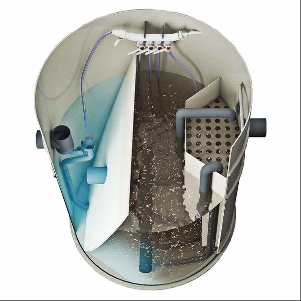 Przydomowa biologiczna oczyszczalnia ścieków 4 - 10 osób VH8 LIGHT zdjęcie 4