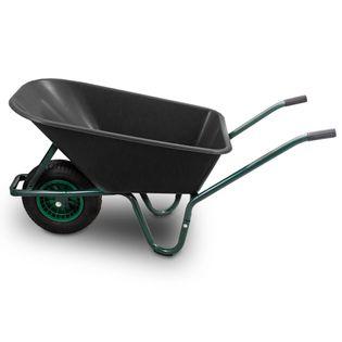 Budowlana Ogrodowa Taczka Wózek 100L PVC 250KG