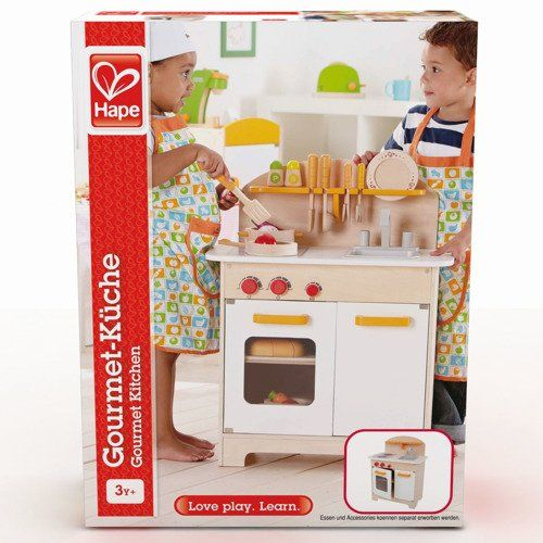 Hape Duża Kuchnia drewniana do zabawy dla dzieci zdjęcie 2