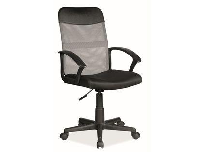 Fotel do biurka Q-702 dla dziecka SZARY