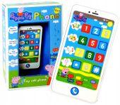Smartfon ŚWINKA PEPPA Edukacyjny Mówi PL Uczy 12m+