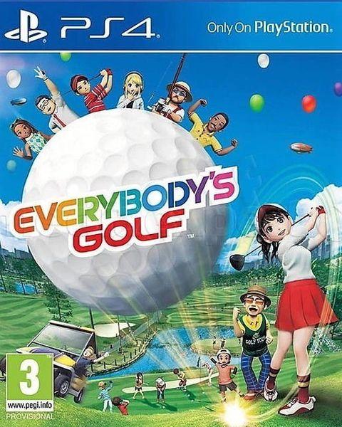 Everybodys Golf PL PS4 zdjęcie 4