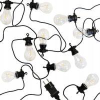 GIRLANDA OGRODOWA LAMPKI OGRODOWE 10 LED 7,5m