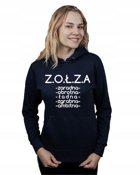 Bluza damska kangur ZOŁZA CECHY S na Arena.pl
