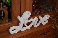 Napis 3D Love