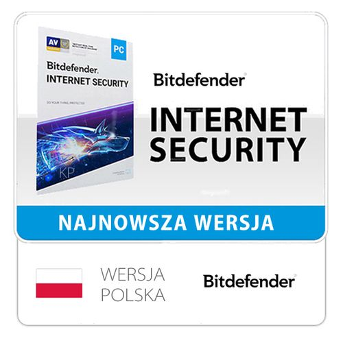 BitDefender Internet Security 1PC / 1Rok na Arena.pl