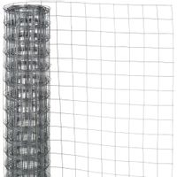 Siatka z drutu, kwadratowa, 1x2,5 m, 13 mm, galwanizowana stal