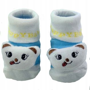 Skarpetki niemowlęce bawełna ABS bezuciskowe Kids
