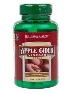 Apple Cider Vinegar, 300mg - 200 tablets Holland & Barrett